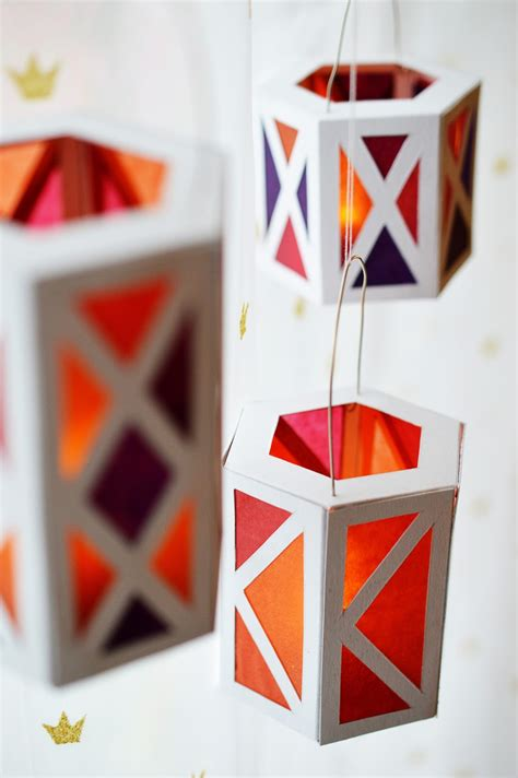 How To Make Diy Paper Lanterns - celebrations diy paper lanterns motte