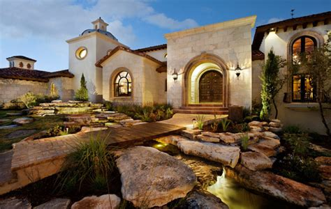 spanish hacienda style homes showcase home in austin spanish oaks hacienda