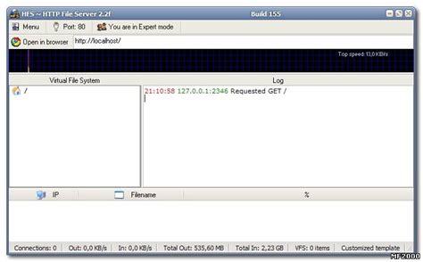 hfs server templates hfs template
