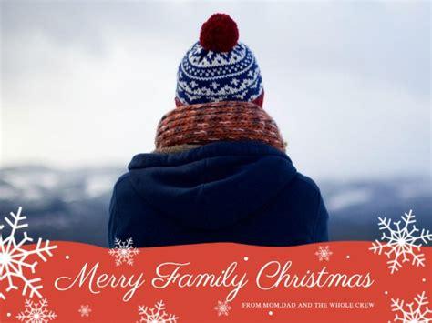 merry christmas greeting card template fotor design maker