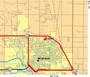 midland zip code map 48642 zip code midland michigan profile homes