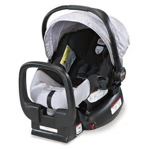 britax chaperone infant car seat baby carrier black