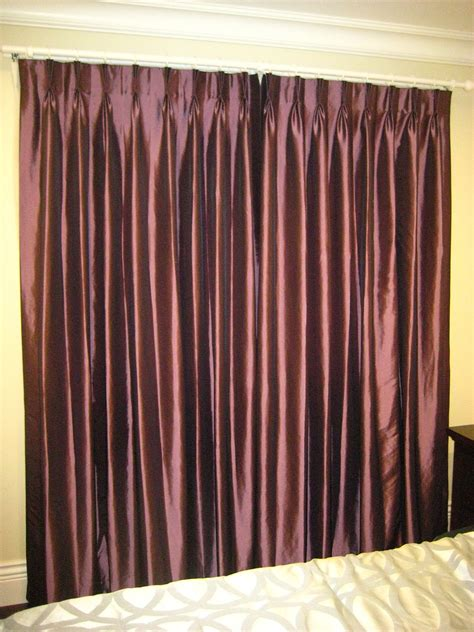 b0017 purple bedroom curtain
