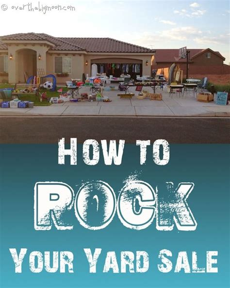 How To Hold A Garage Sale by 1000 Ideas About Yard Sale Displays On Yard