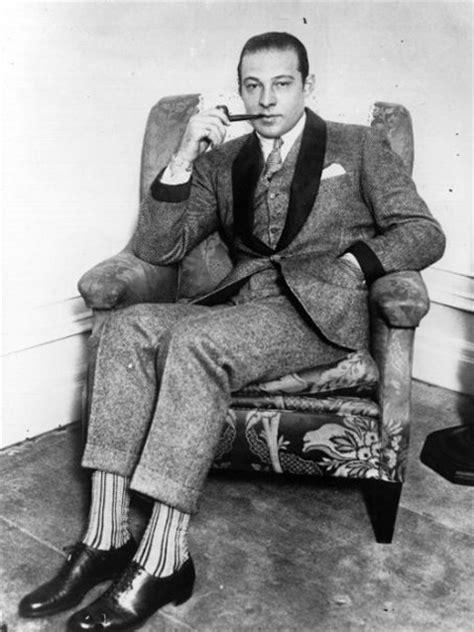 Recline Thesaurus by Vintage Wool Suit Beau Du