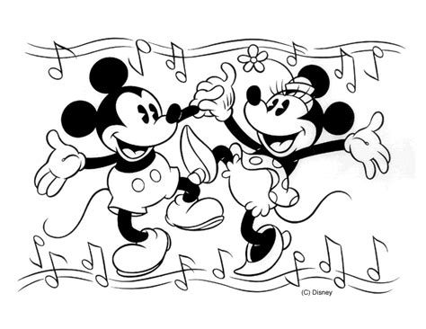 coloring pages mickey and minnie mouse free printable mickey mouse coloring pages for kids