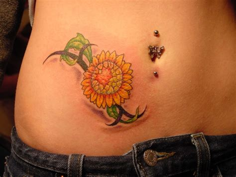 tribal sunflower tattoo sunflower tattoos designs ideas and meaning tattoos for you