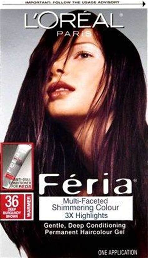 Chocolate Cherry And Deep Burgundy Bown Color Pont Tials Extensions | oreal feria hair color 36 chocolate cherry deep burgundy