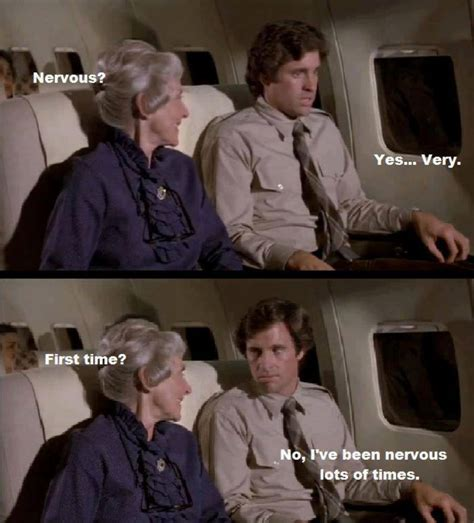Airplane Movie Meme - funny airplane scene