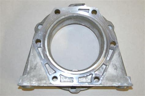 le wd transfer case adapter  aluminum