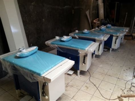 jual vacuum table meja setrika uap laundry  garment