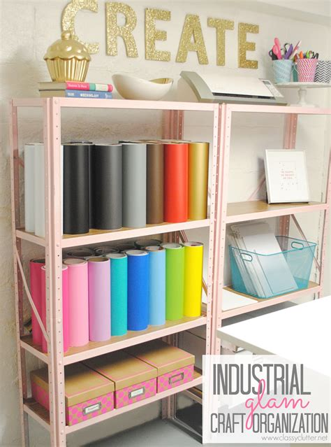 shelving for craft room inexpensive craft room shelving clutter
