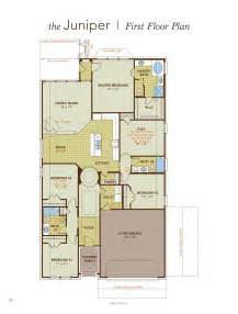Juniper Floor Plan by Juniper Home Plan By Gehan Homes In Paloma Creek