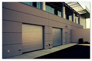 Rytec Spiral High Speed Parking Garage Door Rytec Garage Doors