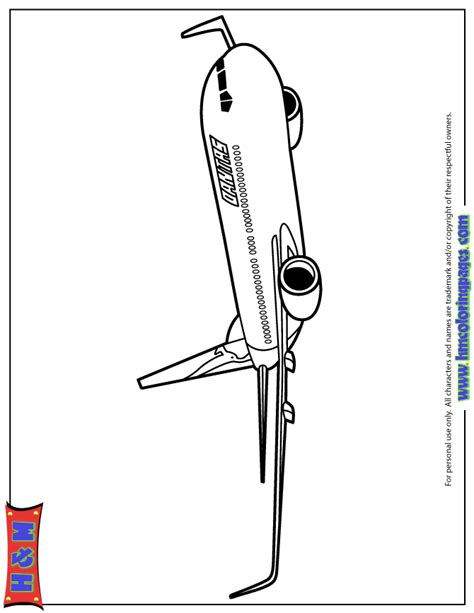 787 Coloring Page by Airplane For Boys Coloring Page H M Coloring Pages