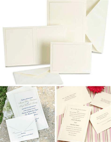 Wedding Invitations Kits Diy by Custom Wedding Invitation Kits Diy Projects Craft Ideas