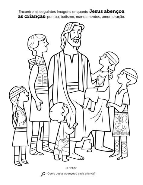 Jesus Abençoa as Criancinhas