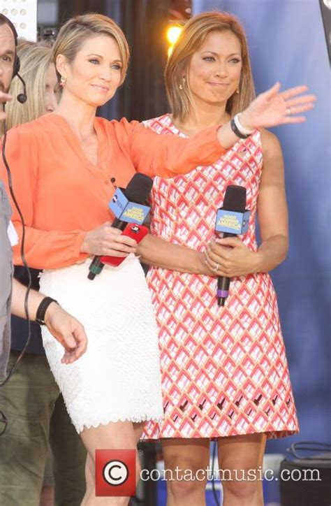 ginger zee and amy robach amy robach good morning america summer concert series