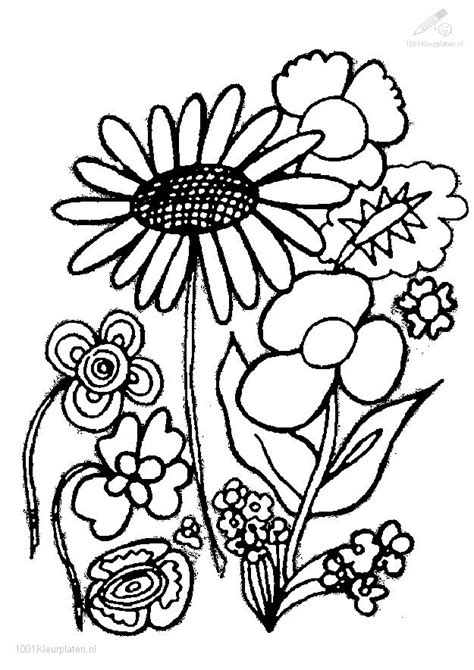 Flower Coloring Page Coloring Pages Plants