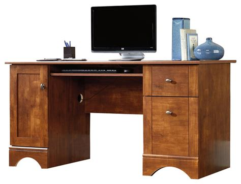 Saunders Computer Desk Saunders Computer Desk Sauder Computer Desk In Brushed Maple Transitional Desks And Small