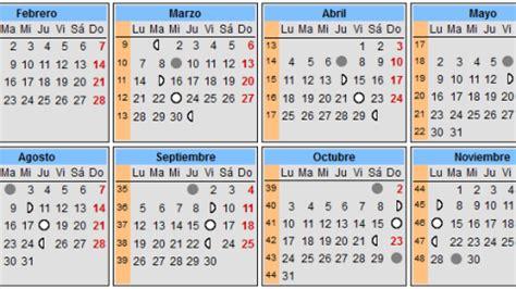 almanaque o calendario perpetuo con las fases lunares y share the calendario lunar del embarazo 2017 calendarios de embarazo