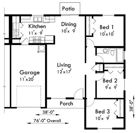 Duplex Floor Plans With Garage by 66 Best Images About Duplex Plans On Pinterest