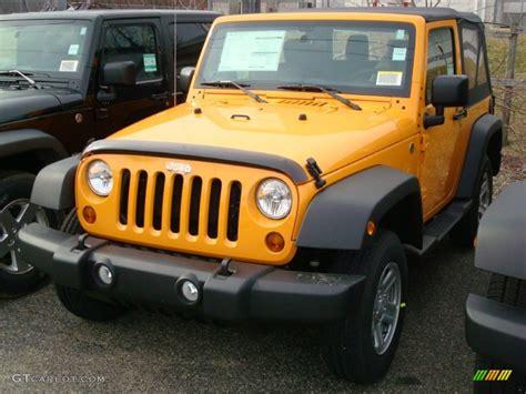 2012 jeep wrangler colors 2012 dozer yellow jeep wrangler sport 4x4 60506240