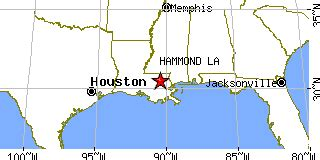 louisiana map hammond hammond louisiana la population data races housing