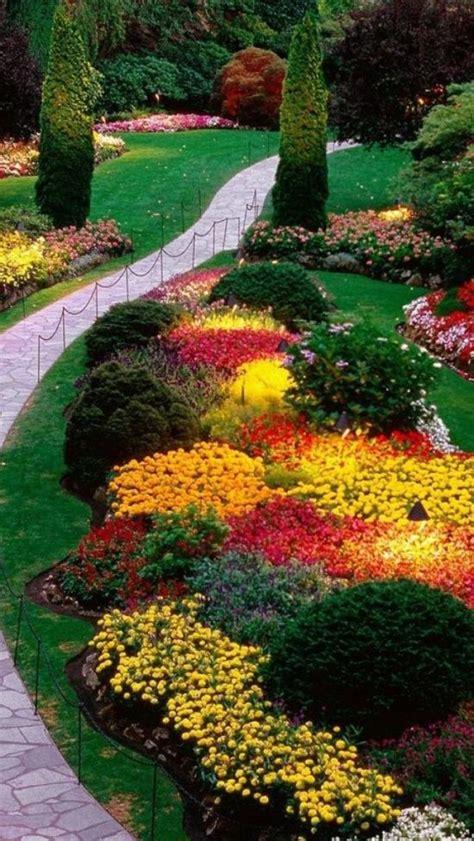 Gardens Canada by Butchart Gardens Bc Canada Flowers