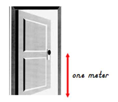 Distance From Floor To Door Knob - vocabulary measurement flashcards easy notecards