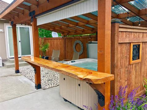 gazebo ideas for tubs add privacy and create a spa