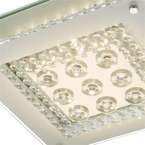 decken kristallleuchter glanzvolle deckenleuchte mit klaren glaskristallen len