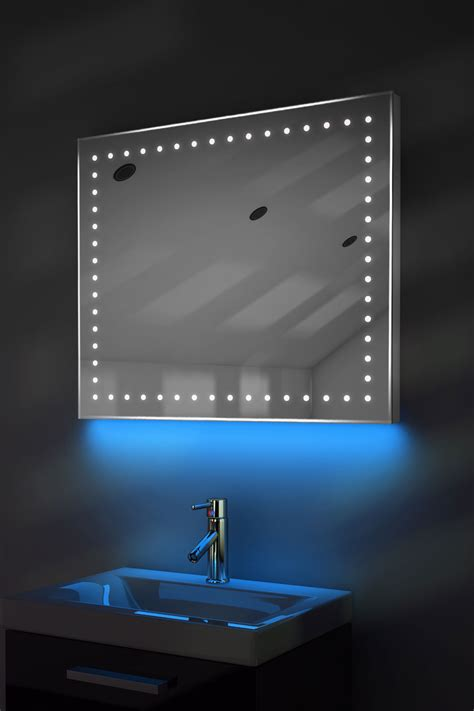 bathroom demister mirror ambient shaver led bathroom illuminated mirror with