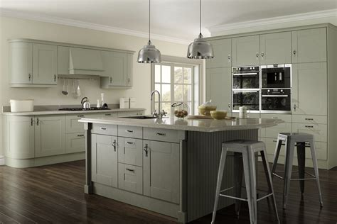 trade kitchen cabinets malham sage olive shaker kitchen proline cabinets ltd