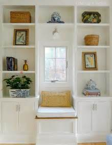window seat and bookshelves bookcases with a window seat home projects we