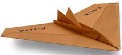 How To Make A Paper Nighthawk - nighthawk paper airplane free crafts