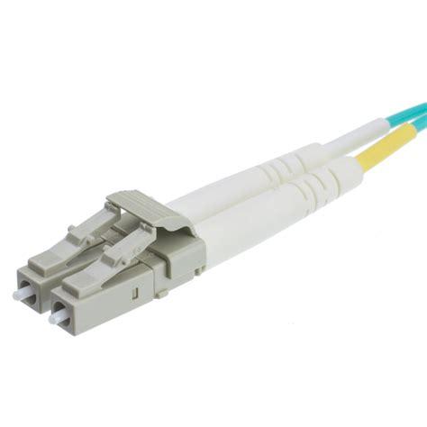 10 gigabit cable 15 meter lc 10 gigabit aqua om4 duplex fiber optic cable