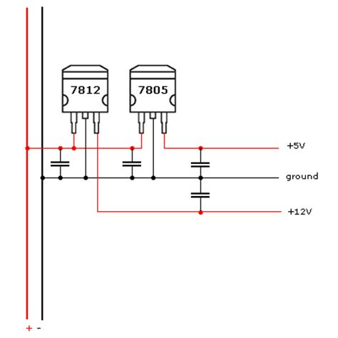 capacitor parallel power supply simple motor driver circuit ai shack tutorials for opencv computer vision learning