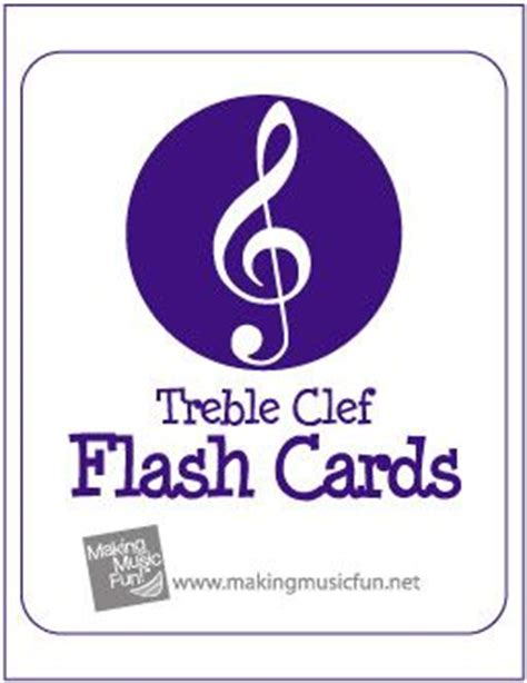 bass and treble clef with flash free printable flash cards treble and bass clef 171 the