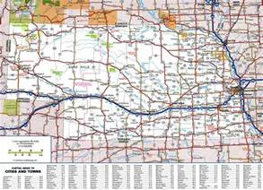 map with cities and roads large detailed roads and highways map of nebraska state
