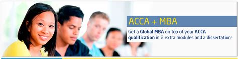 Acca Global Mba by Acca Mba