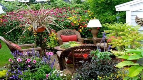 rustic backyard ideas small flower garden design ideas