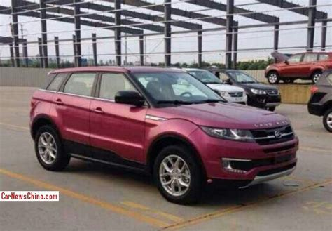 land wind e32 spy shots the landwind e32 chinese evoque is ready for
