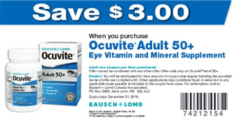 for eyes printable coupons save 3 00 off ocuvite adult 50