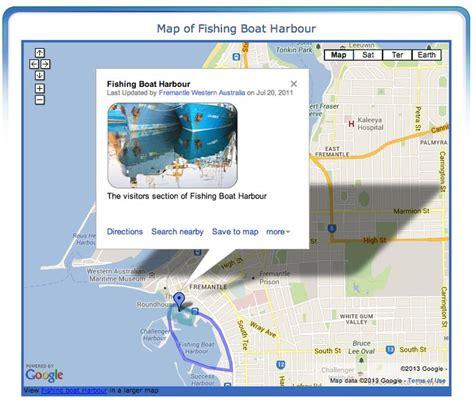 fremantle fishing boat harbour map 12 best images about fremantle maps on pinterest end of