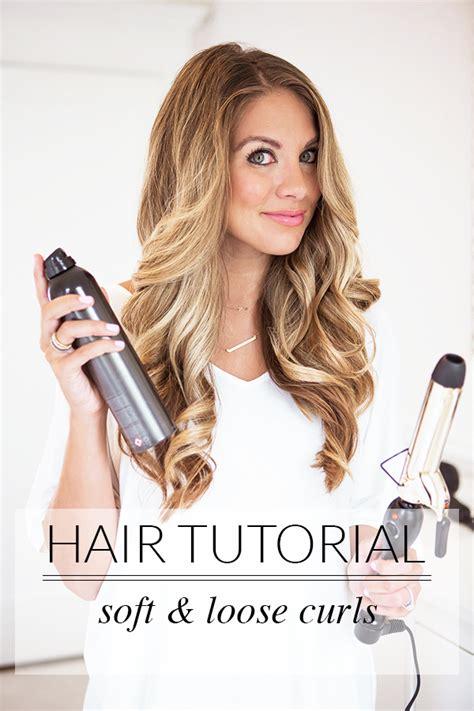Wedding Hair Big Curls by How To Get Big Curls The A Dallas Fashion