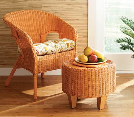 spray paint wicker furniture