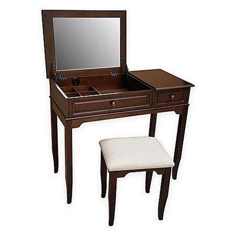 Emily Bathroom Vanity Set With Stool by Buy Emily Bathroom Vanity Set With Stool In Walnut From