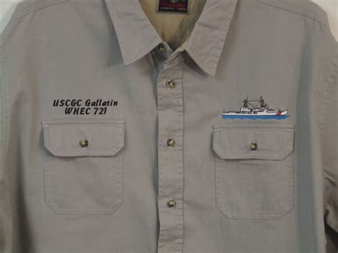 custom embroidery shirts patriotic embroidery custom embroidered coast guard