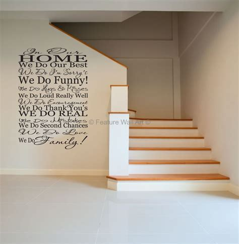Wall Decal Stickers Quotes family quotes wall decals we do family vinyl art wall